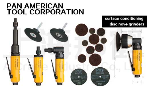 Pan American/航空气钻磨料系列/SURFACE CONDITIONING DISC NOVE GRINDERS